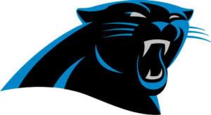 Carolina Panthers team logo in JPG format