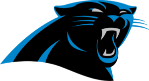Carolina Panthers team logo in PNG format