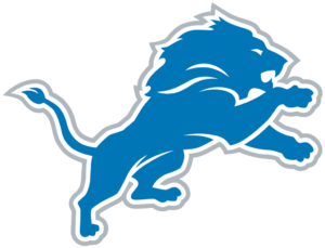 Detroit Lions team logo in PNG format