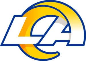 Los Angeles Rams team logo in JPG format