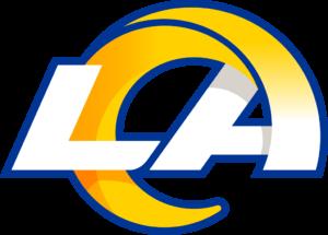 Los Angeles Rams team logo in PNG format