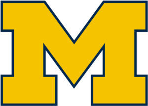 Michigan Wolverines team logo in JPG format