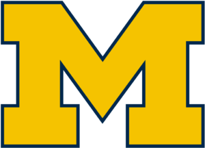 Michigan Wolverines team logo in PNG format