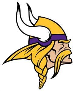 Minnesota Vikings logo Colors