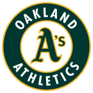 Oakland Athletics team logo in JPG format