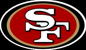 San Francisco 49ers team logo in PNG format