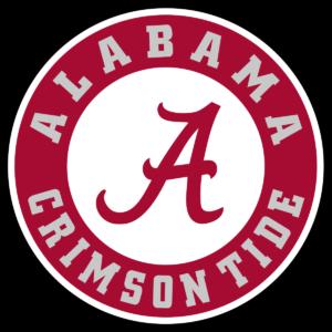 Alabama Crimson Tide team logo in PNG format