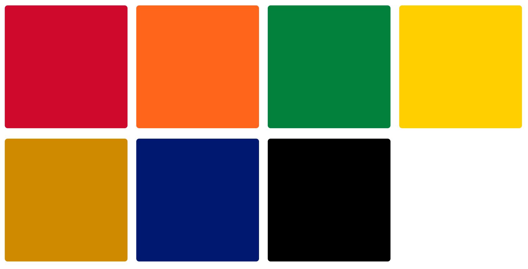 Chicago Blackhawks Color Palette Image