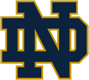 Notre Dame Fighting Irish team logo in JPG format