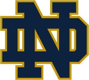 Notre Dame Fighting Irish team logo in PNG format