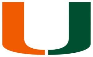 Miami Hurricanes team logo in JPG format