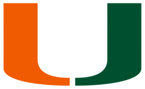 Miami Hurricanes team logo in PNG format