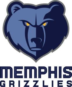 Memphis Grizzlies team logo in JPG format