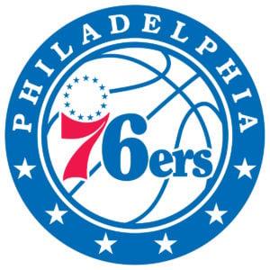 Philadelphia 76ers team logo in JPG format