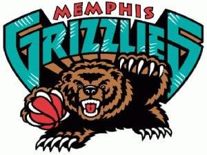 Memphis Grizzlies Retro Colors