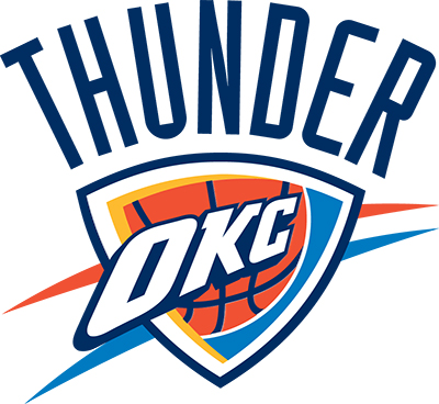 oklahoma city thunder colors team color codes
