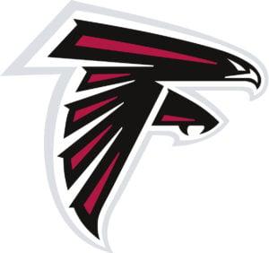 Atlanta Falcons team logo in JPG format