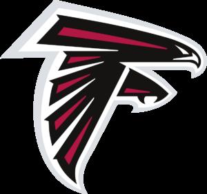 Atlanta Falcons team logo in PNG format