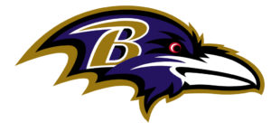 Baltimore Ravens team logo in JPG format