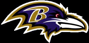 Baltimore Ravens team logo in PNG format