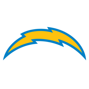 Los Angeles Chargers team logo in PNG format