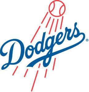 Los Angeles Dodgers team logo in JPG format