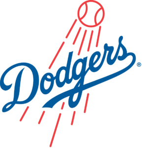Los Angeles Dodgers team logo in PNG format