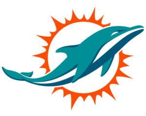 Miami Dolphins team logo in JPG format