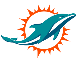Miami Dolphins team logo in PNG format
