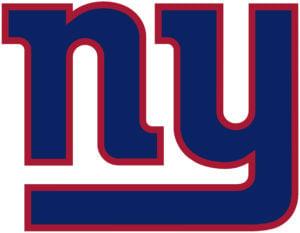 New York Giants team logo in JPG format
