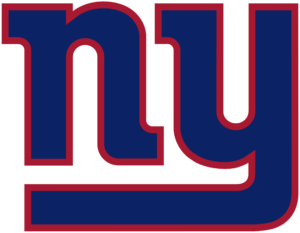 New York Giants team logo in PNG format