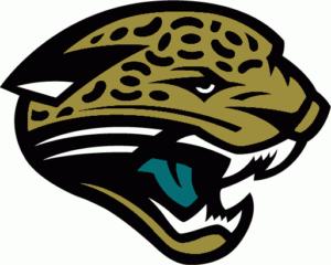 jacksonville jaguars logo colors 1995