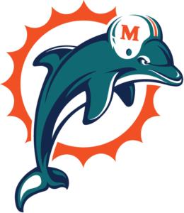 miami dolphins retro colors