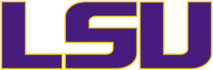 Louisiana State (LSU) Tigers team logo in JPG format