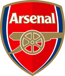 Arsenal team logo in PNG format