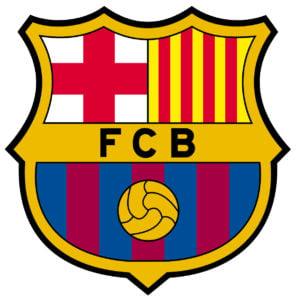 Barcelona FC team logo in JPG format