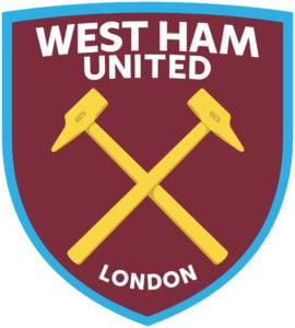 West Ham United team logo in JPG format