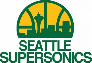 supersonics logo colors