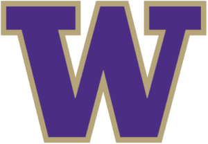 washington huskies logo colors