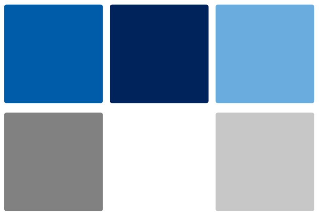 Creighton Bluejays Color Palette Image